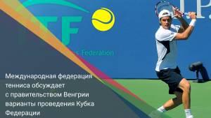 Международная федерация тенниса обсуждает с правительством Венгрии варианты проведения Кубка Федерации