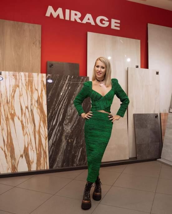 39-летняя телеведущая Ксения Собчак прокомментировала слухи о ее проблемах с деньгами