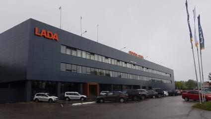 Продажи Lada в Украине возросли в четыре раза, сравнивая с прошлым годом