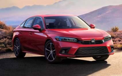 Компания Honda продемонстрировала новый седан Civic 2022 модельного года