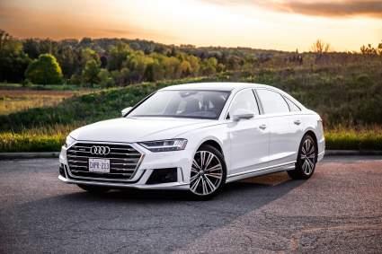 Опубликованы первые изображения нового Audi A8 Horch