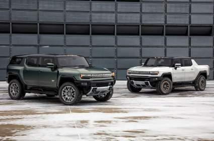 General Motor представила новый электрический внедорожник Hummer EV