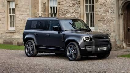 Land Rover Defender с двигателем V8 начал продаваться в России по цене от 9 071 000 рублей