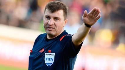 Арбитр Михаил Вилков отстранен на пожизненный срок от судейства в матчах ЧР