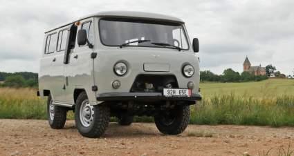 В Германии продается модернизированная УАЗ «Буханка» за 2,3 млн рублей