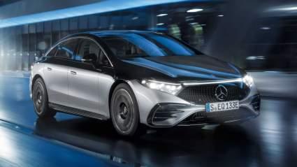 Mercedes-Benz презентовал свой первый электрический седан EQS 2022 года