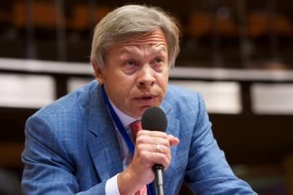 Пушков оценил слова Зеленского о вступлении Украины в НАТО