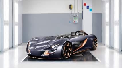 Студенты IED создали для Suzuki гибрид автомобиля и спортбайка