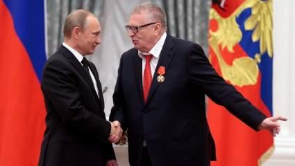 Владимир Путин вручил Жириновскому орден «За заслуги перед Отечеством» первой степени