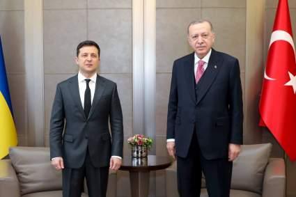 Эрдоган заявил, что Турция хочет мирного решения споров России и Украины