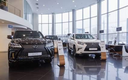 Lexus в 1 квартале 2021 года установил рекорд продаж на российском рынке