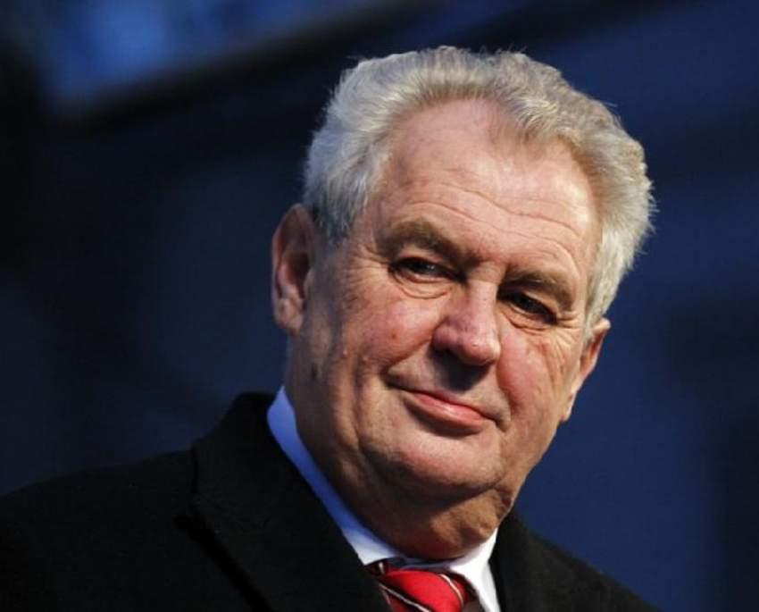 Президент Чехии Земан не контактировал с представителями России по делу о взрывах
