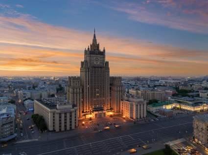 МИД РФ заявил о высылке 20-ти чешских дипломатов