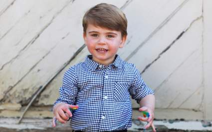 Королевская семья порадовала поклонников фото принца Луи в его день рождения