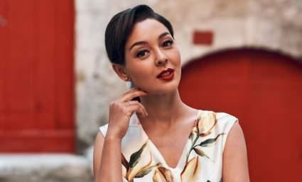 Марина Кравец первый раз показала поклонникам свою дочь Веронику
