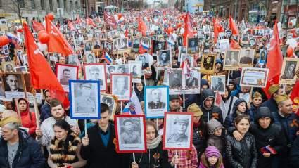 Дмитрий Песков ответил на вопрос по теме о проведении акции «Бессмертного полка»