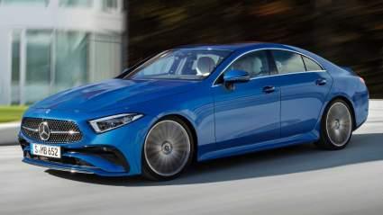 Mercedes-Benz представил обновленный седан CLS класса люкс третьего поколения