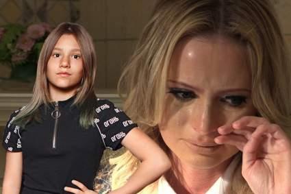 Дочь Даны Борисовой изувечила себя после ссоры с матерью