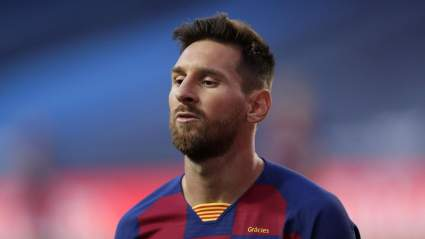 Клуб «Барселона» победила в матче с «Хетафе» благодаря Лионелю Месси