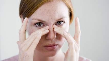 Нарушение в работе головного мозга может быть из-за воспаления носовых синусов