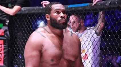 Чемпион ACA Тони Джонсон рассказал о тренировках с бойцом UFC Фрэнсисом Нганну