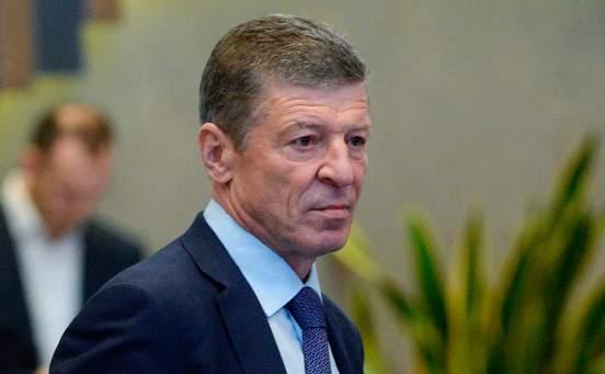 Дмитрий Козак считает, что Киев имитирует военную угрозу на Донбассе