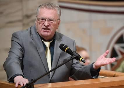 Лидер ЛДПР Жириновский предложил построить дамбу у Днепра