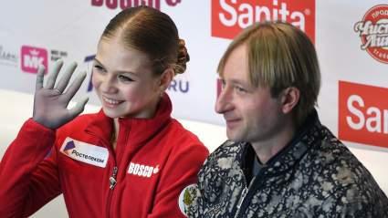 Александра Трусова рассказала о тренировках под руководством Плющенко