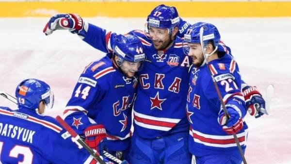 СКА забросил шесть безответных шайб «Локомотиву» на турнире в Сочи