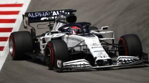 Квят признался, что его разочаровала гонка на Гран-при Испании