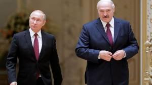 Путин и Лукашенко обсудили методы стабилизации обстановки в Белоруссии