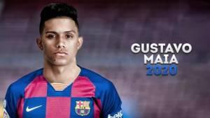 «Барселона» объявила о трансфере 19-летнего форварда «Сан-Паулу» Майи