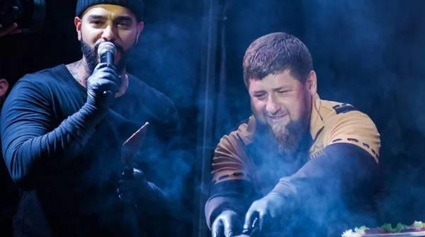 Рэпер Тимати отметил свой день рождения в Чечне с Кадыровым