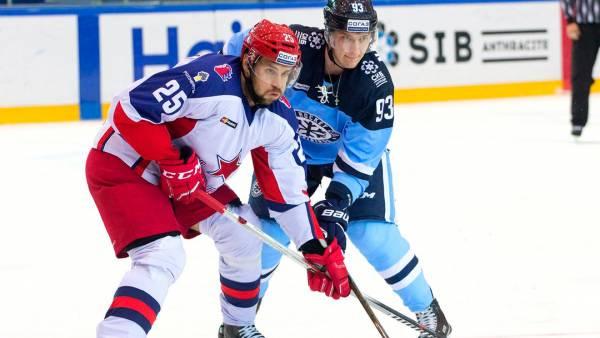 «Сибирь» примет ЦСКА в первом домашнем матче сезона