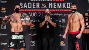 Немков оказался легче Бейдера перед боем за титул Bellator