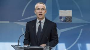 Вчера: Генсек НАТО предостерег Россию от вмешательства в дела Белоруссии