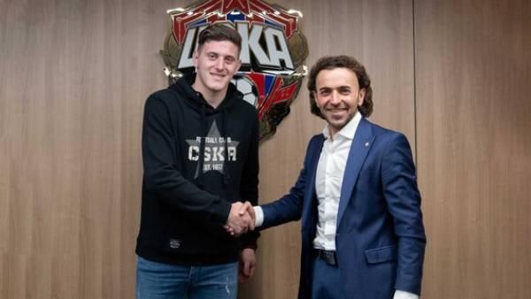 ЦСКА подписал контракт с Гайчем