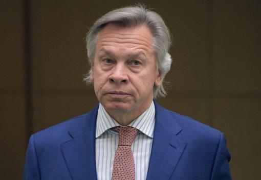 """Сенатор Пушков заявил о """"подложенной свинье"""" Украине со стороны президента Эстонии"""