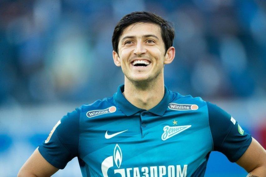 """Игрок """"Зенита"""" Сердар Азмун возможно скоро начнёт играть за французский """"Лион"""""""