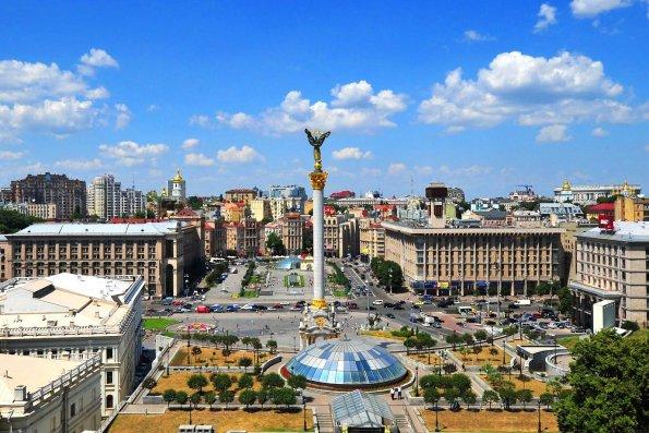 В Киеве прошёл масштабный военный парад в честь празднования независимости Украины