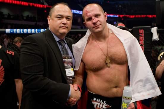 Глава Bellator назвал главное условие для проведения поединка Федора Емельяненко в Москве