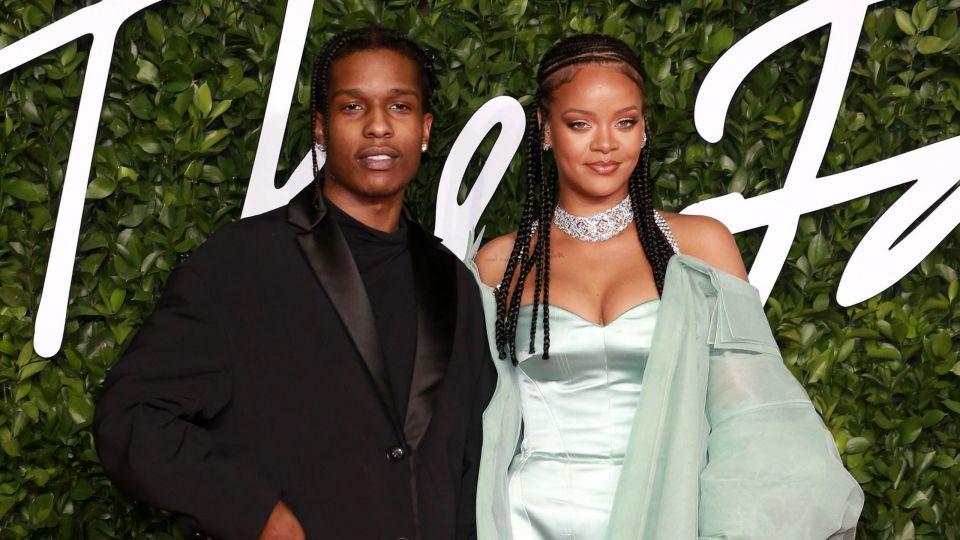 Рэпер A$AP Rocky и Рианна начали романтические отношения
