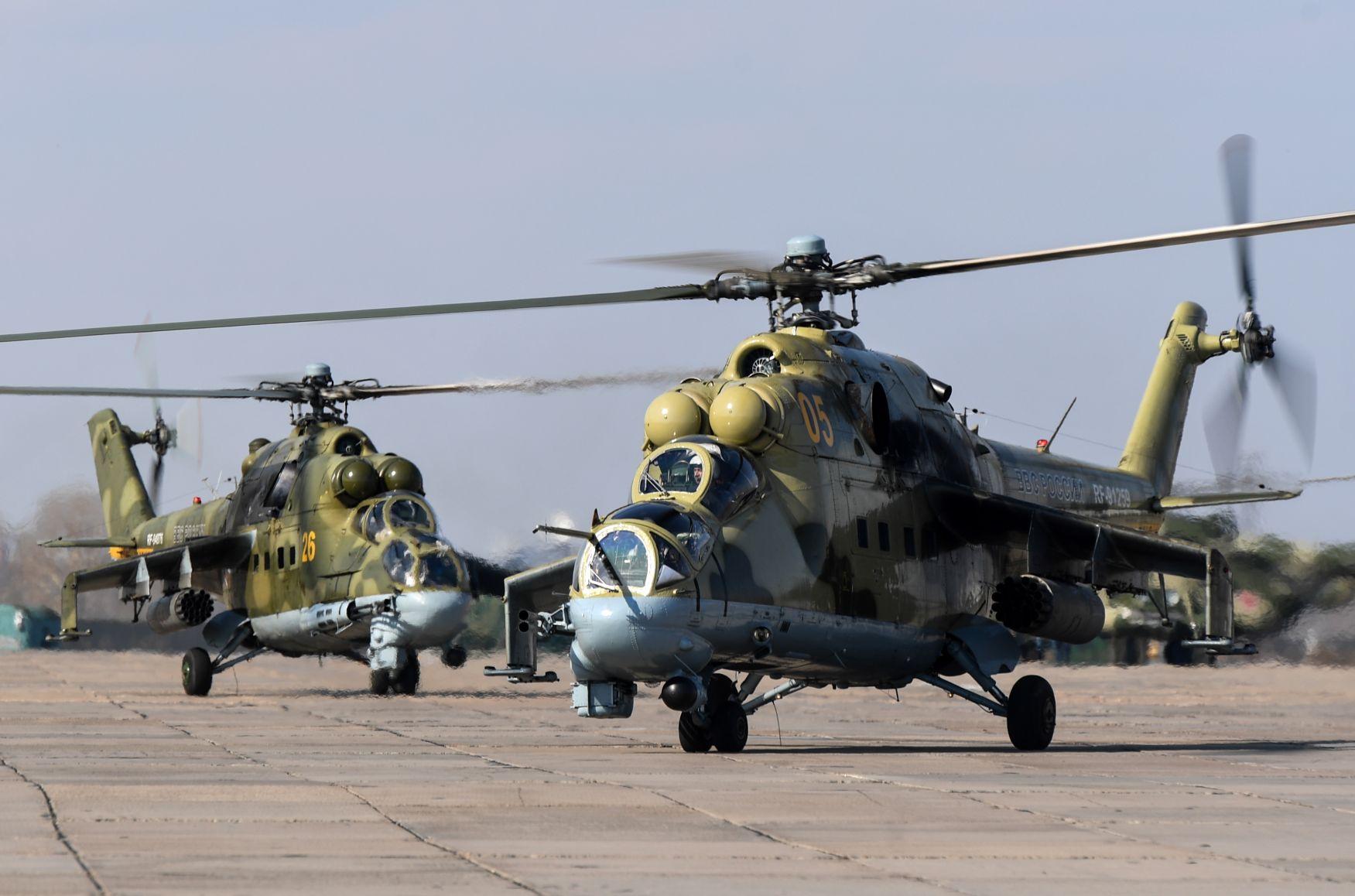 Пентагон намерен приобрести российские Ми-24 для обучения инструкторов США