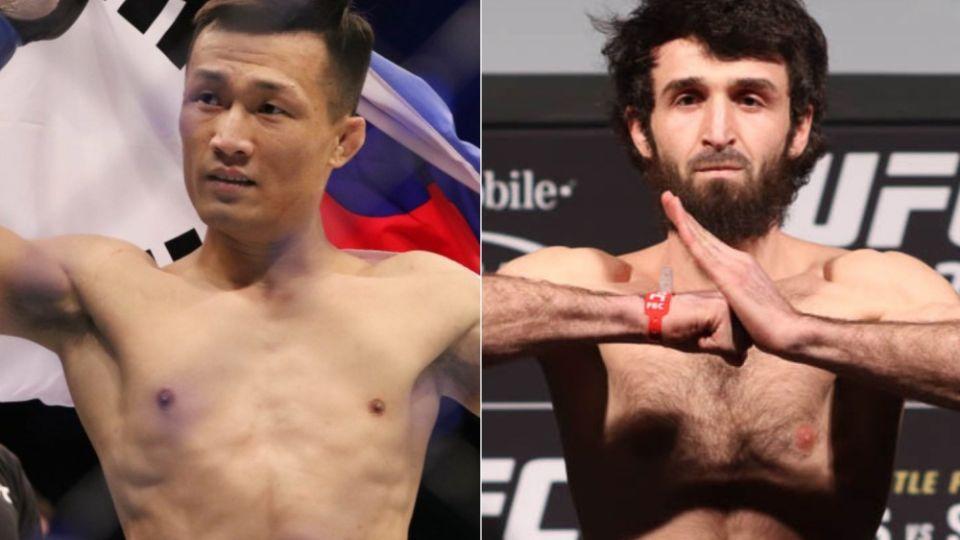 «Корейский Зомби» вызвал Магомедшарипова на бой в UFC