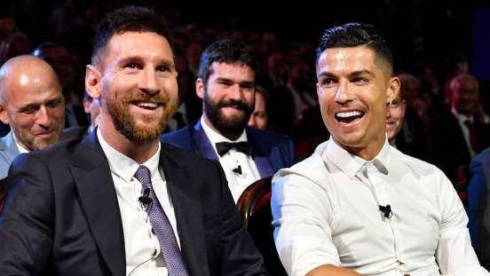 Лионель Месси признался, что восхищается игрой Криштиану Роналду