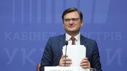 Глава МИД Украины призывает к диалогу с Россией