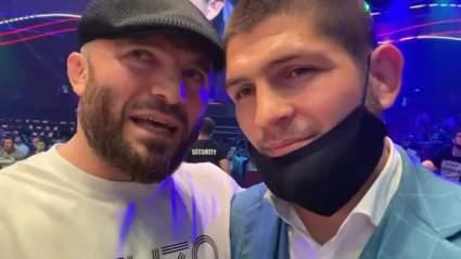 Исмаилов поздравил Хабиба с уходом из спорта