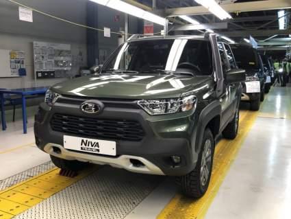 "На ""АвтоВАЗе"" началось производство внедорожника Lada Niva Travel"