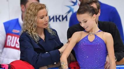 Вчера: Тутберидзе одним словом охарактеризовала победу Щербаковой на чемпионате России