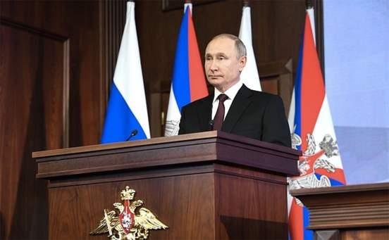 Владимир Путин возглавил Госсовет
